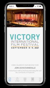 VIFF app running on an iPhone 11 Pro Max