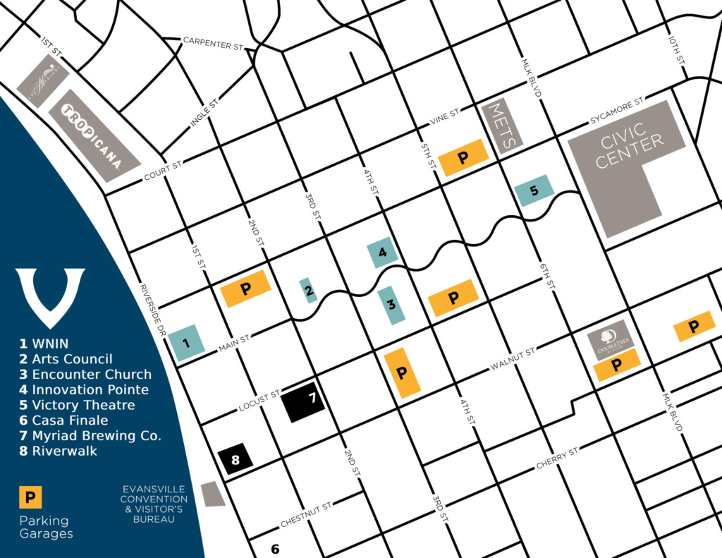 2021 venue map