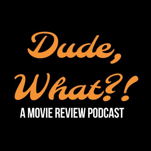 Dude, What?! logo